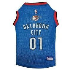 Oklahoma City Thunder NBA Dog Jersey
