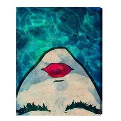 Watercoveted Graphic Canvas Art