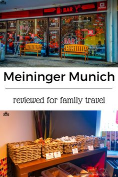 Meininger Munich is one of the new breed of family accommodation available. Not quite hostel not quite hotel but full of facilities for all.