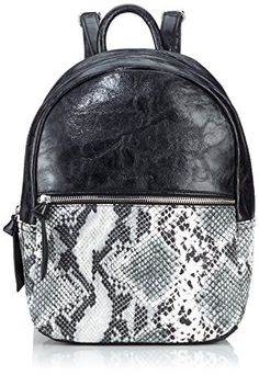 Tamaris MARLENE Backpack, Borsa a zainetto donna, Nero (Schwarz (black comb 098)), 23x32x13 cm (B x H x T) Tamaris http://www.amazon.it/dp/B00TZZOC3W/ref=cm_sw_r_pi_dp_jp07vb170FY24