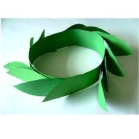 Crown of Olive Leaves Craft