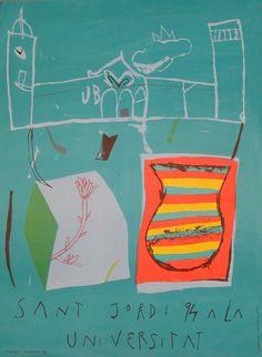 #Cartells #SantJordi2016 Balearic Islands, Movie Posters, Art, Spain, Art Background, Film Poster, Kunst, Performing Arts, Billboard