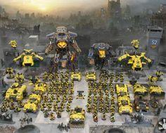 Astorum, Forge World, Marines Malevolent, Reaver, Space Marines, Titan, Warhound, Warp Runners