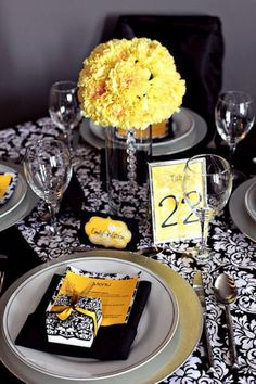 This would be my table set