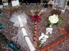 decorative brooms (jumping the broom)