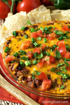 Incredible Chili Dip - great game day appetizer!