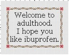 Thrilling Designing Your Own Cross Stitch Embroidery Patterns Ideas. Exhilarating Designing Your Own Cross Stitch Embroidery Patterns Ideas. Cross Stitching, Cross Stitch Embroidery, Embroidery Patterns, Hand Embroidery, Funny Embroidery, Embroidery Hoops, Knitting Patterns, Knitting Tutorials, Funny Cross Stitch Patterns