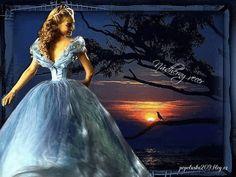Večerné prianie-obrázky na profill-111 | Obrázky pre radosť Erika, Ball Gowns, Night, Formal Dresses, Lady, People, Fashion, Ballroom Gowns, Dresses For Formal
