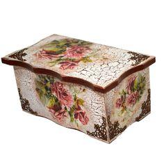 WONDERFUL ROSES Card Box Wedding, Gold Flowers, Decoupage, Nostalgia, Decorative Boxes, Card Holder, Pin Up, Vintage, Home Decor