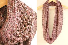 Lisette | Broomstick lace scarf free crochet pattern!