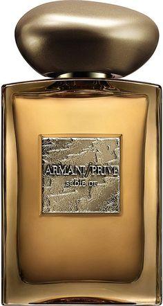 Giorgio Armani Armani Privé Sable Or Eau De Parfum - for Women Perfume Scents, Perfume And Cologne, Best Perfume, Perfume Bottles, Armani Prive Parfum, Parfum Giorgio Armani, Armani Privé, Emporio Armani, Best Fragrance For Men