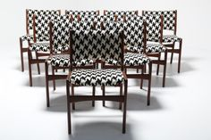 Buy our Vintage Teak Danish Dining Chairs from The Vintage Hub , the home of mid-century furniture. Scandinavian Furniture, Mid Century Furniture, Danish, Teak, Monochrome, Dining Chairs, Contemporary, Fabric, Vintage