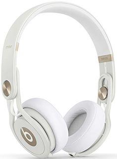 Beats Mixr Grammy Gold On-Ear Headphone (White Gold) Beats Supra Aural Headphones, Noise Cancelling Headphones, Bluetooth Headphones, Beats Headphones, In Ear Headphones, Beats By Dre, Sound Isolation, White Headphones, Headphone With Mic