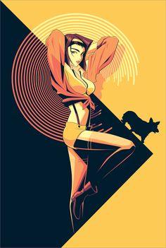 Cowboy Bepop – Faye Dunaway by Craig Drake * – Cowboy Bebop Cowboy Bepop, Cowboy Bebop Faye, Cowboy Bebop Anime, Manga Anime, Manga Art, Anime Art, Cowboy Bebop Wallpapers, See You Space Cowboy, Faye Valentine