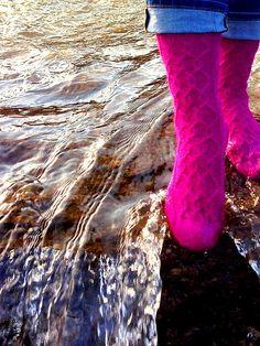Ravelry: Bay of Quinte Socks pattern by Little Church Knits