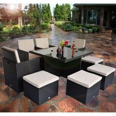 1000 Images About Dream Patio On Pinterest Rattan