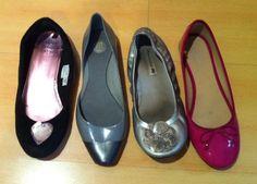 Zapatos chatos varios