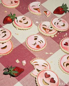 photo courtesy of  Vogue; emoji cookies