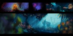 Drown Your Eyeballs in Rayman: Origins' Gorgeous Concept Art