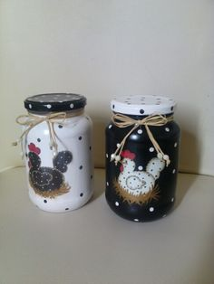1 million+ Stunning Free Images to Use Anywhere Chalk Paint Mason Jars, Painted Wine Bottles, Painted Jars, Diy Bottle, Wine Bottle Crafts, Bottle Art, Jar Crafts, Crafts To Sell, Craft Ideas