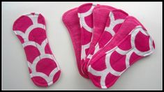 {Step-by-Step Sewing} Reusable Fabric Panty Liners