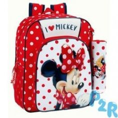 Mochila Minnie Love Mickey