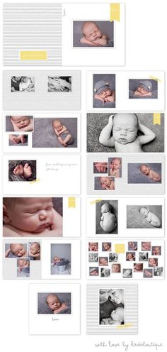 Album de bebe con ecografias paso a paso