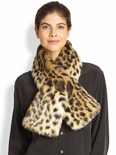 Donna Salyers for Saks Fifth Avenue - Faux Fur Scarf - Saks.com. various colors