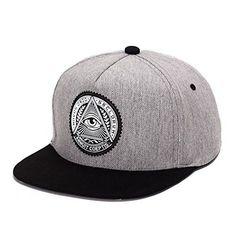 396346828b5 King Star Men Solid Flat Bill Hip Hop Snapback Baseball Cap Eye Caps