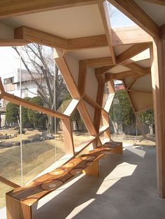 Sumika Pavillion -- Japanese architecture with natural design and creative construction. Pavilion Architecture, Modern Architecture House, Amazing Architecture, Architecture Details, Landscape Architecture, Interior Architecture, Classical Architecture, Building Architecture, Japanese Architecture