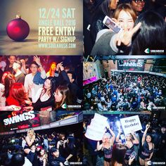 12/24 SAT Jingle Ball 2016 @ Origin San Francisco FREE B4 11 Entry Party w/ signup http://eepurl.com/Ku71b Booth call/text 1-669-238-1801 #soulkrush #nightlife #originsf #xmas #party #sf #sanfrancisco #clubbing