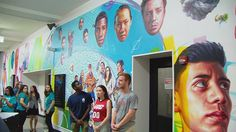 Big Mural on Campus: Lane Tech High School Adds to Art Collection ...