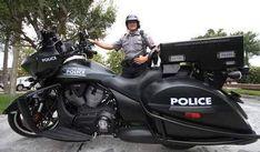 Daytona motorcycle cops trade Harley-Davidson for Victory