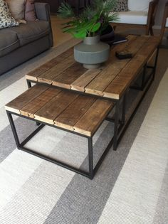 Display home- love this coffee table set