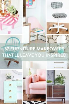 67 furniture makeovers that'll make you want to visit every garage sale in the neighborhood!