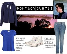 Designer Clothes, Shoes & Bags for Women Girl Greaser Outfit, Greaser Fashion, Greaser Style, 80s Outfit, The Outsiders Ponyboy, The Outsiders 1983, Disney Themed Outfits, Movie Inspired Outfits, Cosplay Ideas