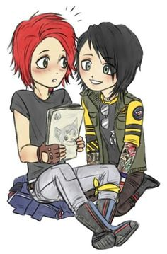 gerardXfrank (mcr) ye... this couple is so cute... i wish they were actually together uwu (cta-unknown)