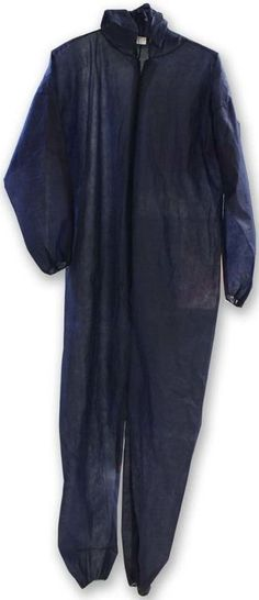 ToolUSA Size Extra Large Blue Pp Coverall With Elastic Wrists & Ankles: DC1-BU/XL : ( Pack of 1 Pc )