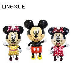 NEW 46inch  mickey balloons Minnie Mouse Airwalker Foil Balloon Mickey Mouse balloon minnie mouse&mickey mouse party supplies #>=#>=#>=#>=#> Click on the pin to check out discount price, color, size, shipping, etc. Save and like it!