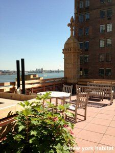 It looks like an oceanfront property, but it's actually a #furnished #apartment #rental in - get this - #Midtown #Manhattan #NYC!
