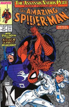 The Amazing Spider-Man #321 by Todd McFarlane