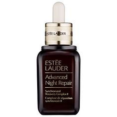 Estee Lauder's Advance Night Repair works as an overnight serum and revitalizes skin. // #Beauty #Skincare