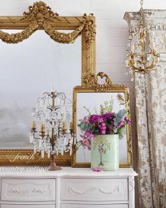 Friday Favorites A warehouse filled with pretty inspiration -  Vintage brassy golds,   subtle oatmeal linens   and chippy well worn patina   kind of makes me wea...