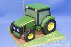 John Deere Tractor, birthday cake by sweet fantasies Tractor Birthday Cakes, Themed Birthday Cakes, Themed Cakes, Tractor Cakes, Robot Cake, Deer Cakes, Farm Cake, Baking Business, Cakes For Boys