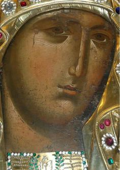 While singing in honour of Your Son, O Mother of God, we all praise you as a living temple; Byzantine Art, Byzantine Icons, Religious Icons, Religious Art, Face Icon, Feminine Mystique, Best Icons, Holy Mary, Orthodox Icons
