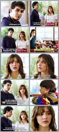 I loved this scene. Of course they didn't stick with him not being able to communicate with the world, rather he's now more adept that Walter, the central star. Movies Showing, Movies And Tv Shows, Walter And Paige, Scorpion Tv Series, Cbs Tv Shows, Netflix, Tv Quotes, Film Serie, Best Shows Ever