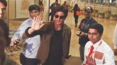 Shahrukh Khan Spotted At Airport, Leave For Europe For Imtiaz Ali's Film...