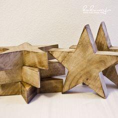 all about stars - Wood Stars - Holzsterne über www.kukuwaja.de