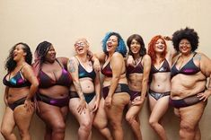 Repost from - Size diversity, shape diversity (not just the hourglass figure that's often the only representation larger bodies are granted), trans visibility, skin colour diversity AND a lingerie brand celebrating all sizes of breasts. Real Bodies, Moda Emo, Mode Plus, Body Confidence, Hourglass Figure, Body Image, Real Women, Pretty People, Silhouette