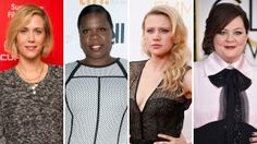 New All-Female 'Ghostbusters' Cast Chosen for Paul Feig-directed reboot:  Melissa McCarthy, Kristen Wiig as well as Saturday Night Live players Leslie Jones and Kate McKinnon!! (can't wait!)